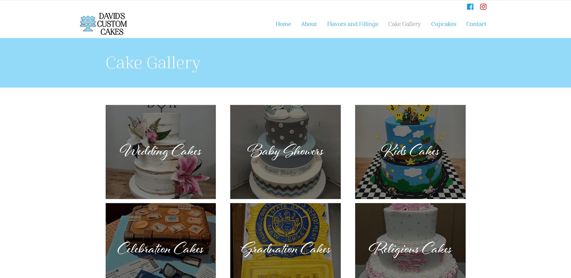 David's Custom Cakes Gallery